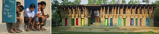 METI school handmade in Bangladesch