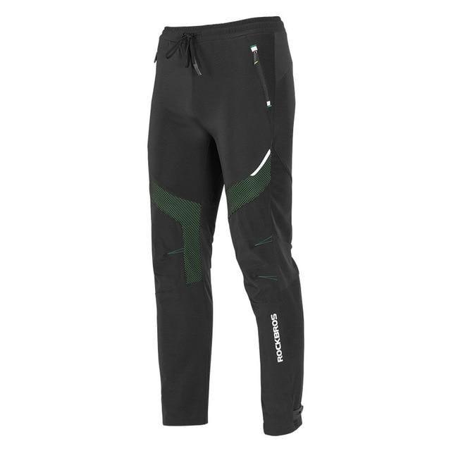 RockBros Running Cycling Casual Pants Windproof Fleece Winter Warm Trousers