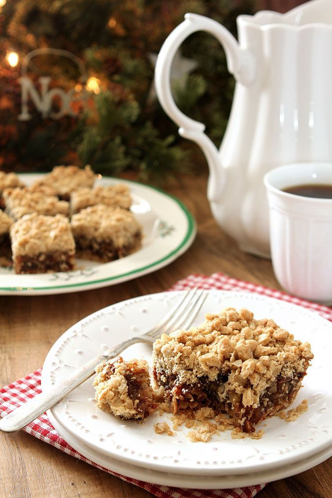 Old Fashioned Date Nut Bars. Sometimes the classic recipes are best! Pin this and it will take you back to your childhood.