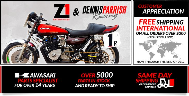 Z1 Enterprises - Specializing in Vintage Japanese Motorcycle Parts, Including New Old Stock & Aftermarket Parts