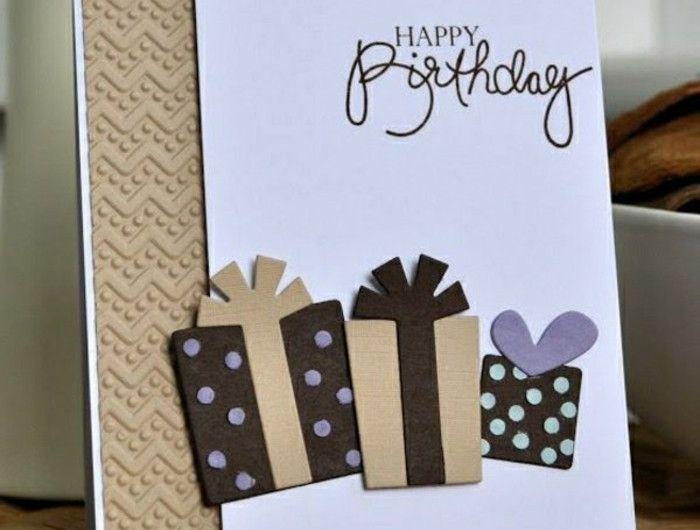 Las 25 mejores ideas sobre cartes de voeux gratuites en for Geburtstagskarten ideen