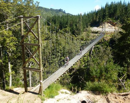 Nga Haerenga - The New Zealand Cycle Trail (definitely want to do this) Get to bike ride through rainforests, glacial fed lakes, and next to old railway lines