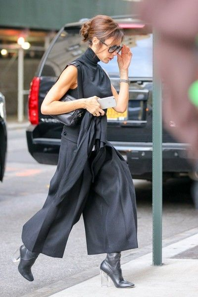 Victoria Beckham Steps out in NYC - December 8, 2015