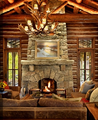 57 best Interior Fireplaces images on Pinterest Stone fireplaces