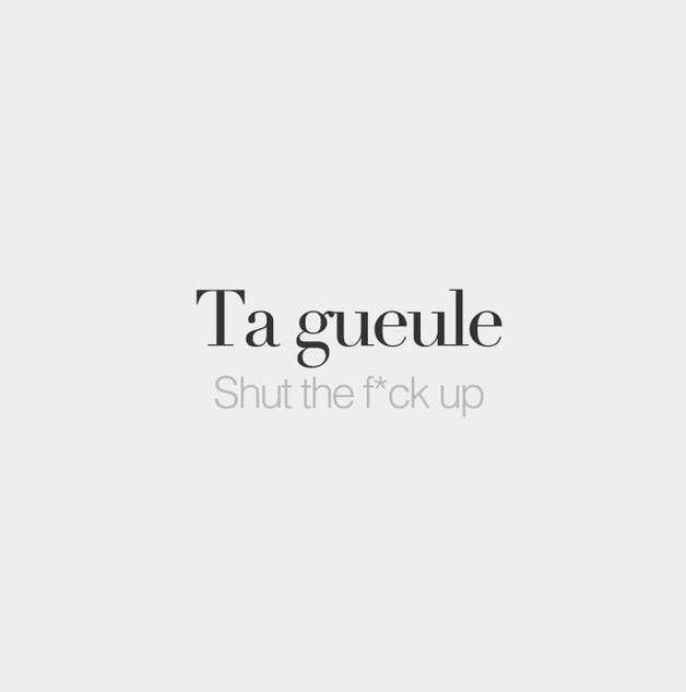 Französisch ~ irgendwie klingt es auf Französisch hübscher! Lol!