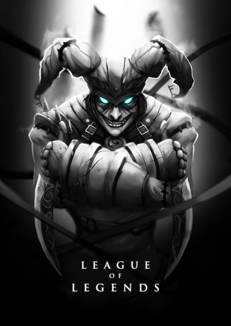 Asylum Shaco by ~wacalac on deviantART                                                   My Favorite Champ. My Main.             What About A Magic Trick!?