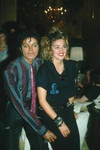 """""""I can't stop crying over the sad news. I have always admired Michael Jackson. The world has lost one of the greats, but his music will live on forever! My heart goes out to his three children and other members of his family. God bless"""". (Madonna)"""