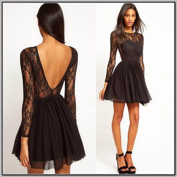 Black mesh dress tumblr color