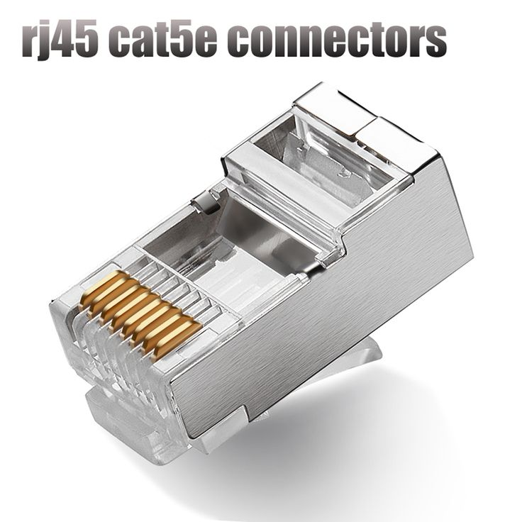 17 best ideas about cat5 kabel cat kabel computer 50pcs rj45 connector cat5 cat5e network connector 8p8c metal shielded modular rj45 plug terminals for utp