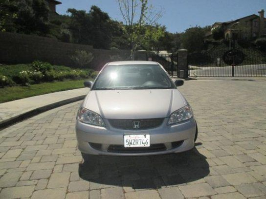 Coupe, 2004 Honda Civic LX with 2 Door in Thousand Oaks, CA (91362)