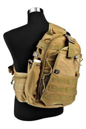 Jtech Gear City Ranger Tactical Combat Outdoor Biking Shoulder Backpack (CM) by Jtech Gear.