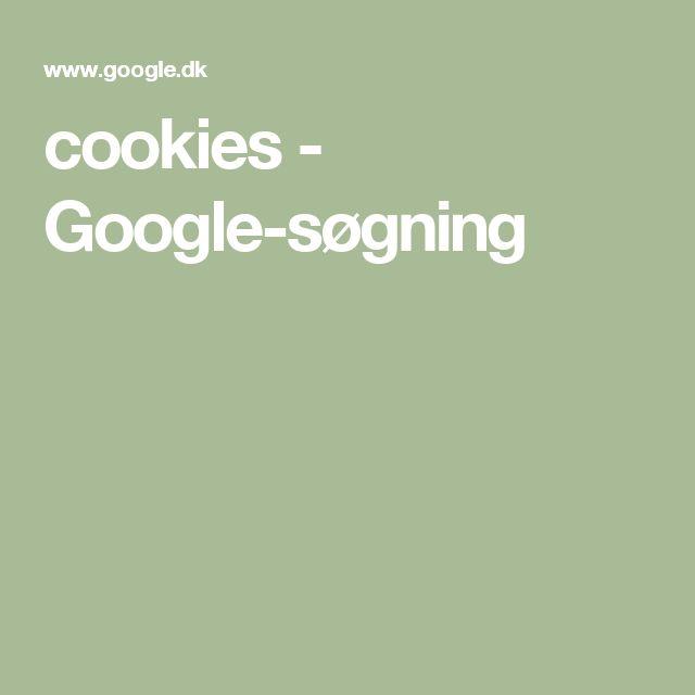 cookies - Google-søgning