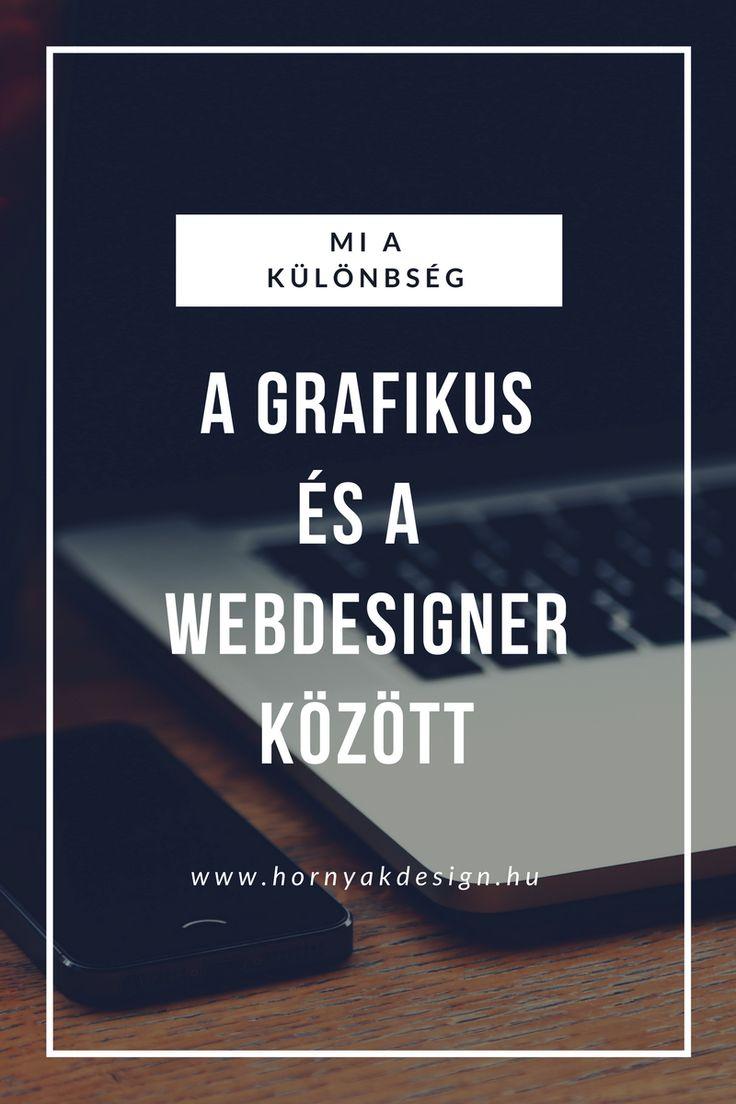Mi a különbség grafikus és a webdesigner között?