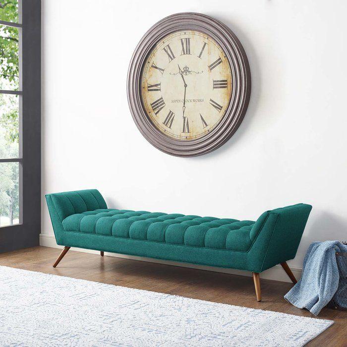 Fiske Upholstered Bench In 2020 Fabric Bench Living Room Sofa Design Upholstered Bench #upholstered #benches #for #living #room