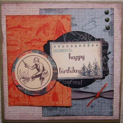 Male card using Kaisercraft papers. Inspired by a card in their magazine.