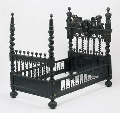 Dutch bed c 1836-60