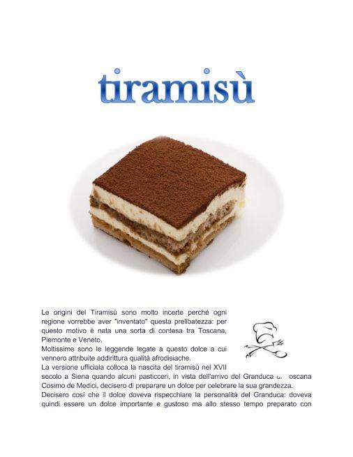 Presentazione Tiramisù