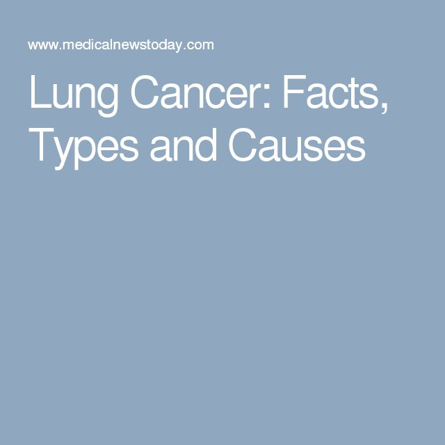 Lung Cancer: Facts, Types and Causes