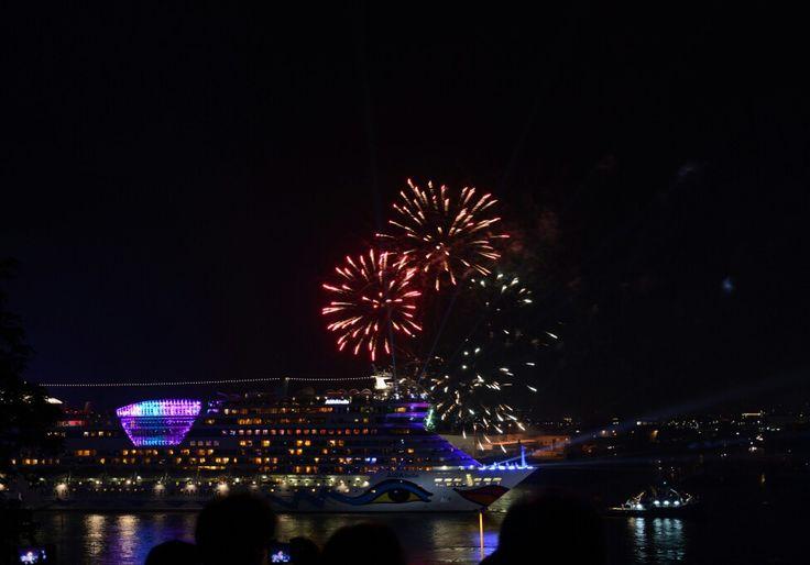 #AIDA Bella in #Hamburg! #Hamburgcruisedays #cruisedays2015 #cruisedays #cruise