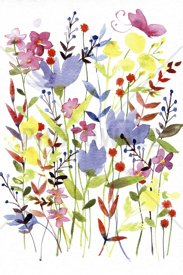 Annes Flowers - Wall Mural & Photo Wallpaper - Photowall