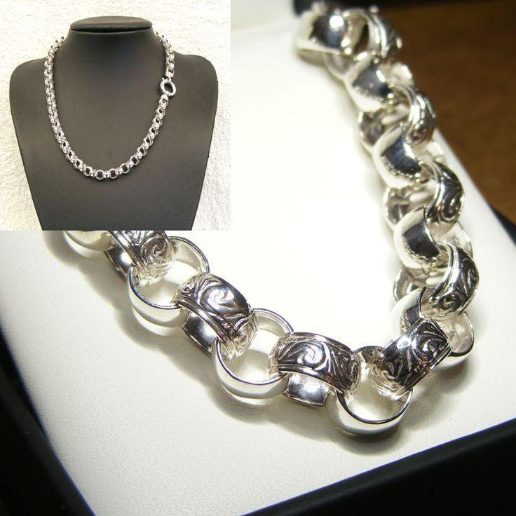 Sterling Silver Belcher Chain - HM-BEL-0013