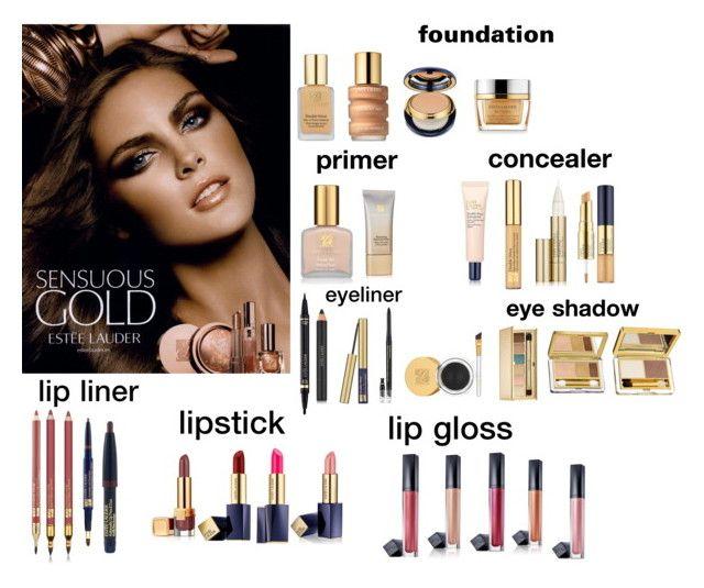 """Estee lauder makeup set"" by sarah4ever123 ❤ liked on Polyvore featuring Estée Lauder"