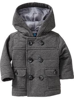 Quilted Fleece Peacoats for Baby