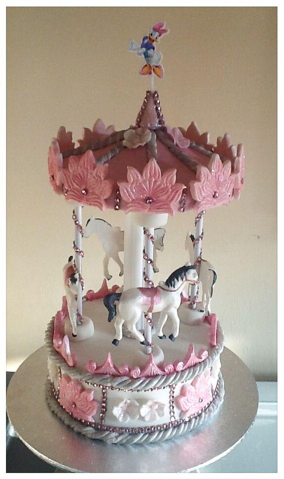 Pinterest Carousel Cake
