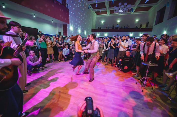 Swing party in Brno