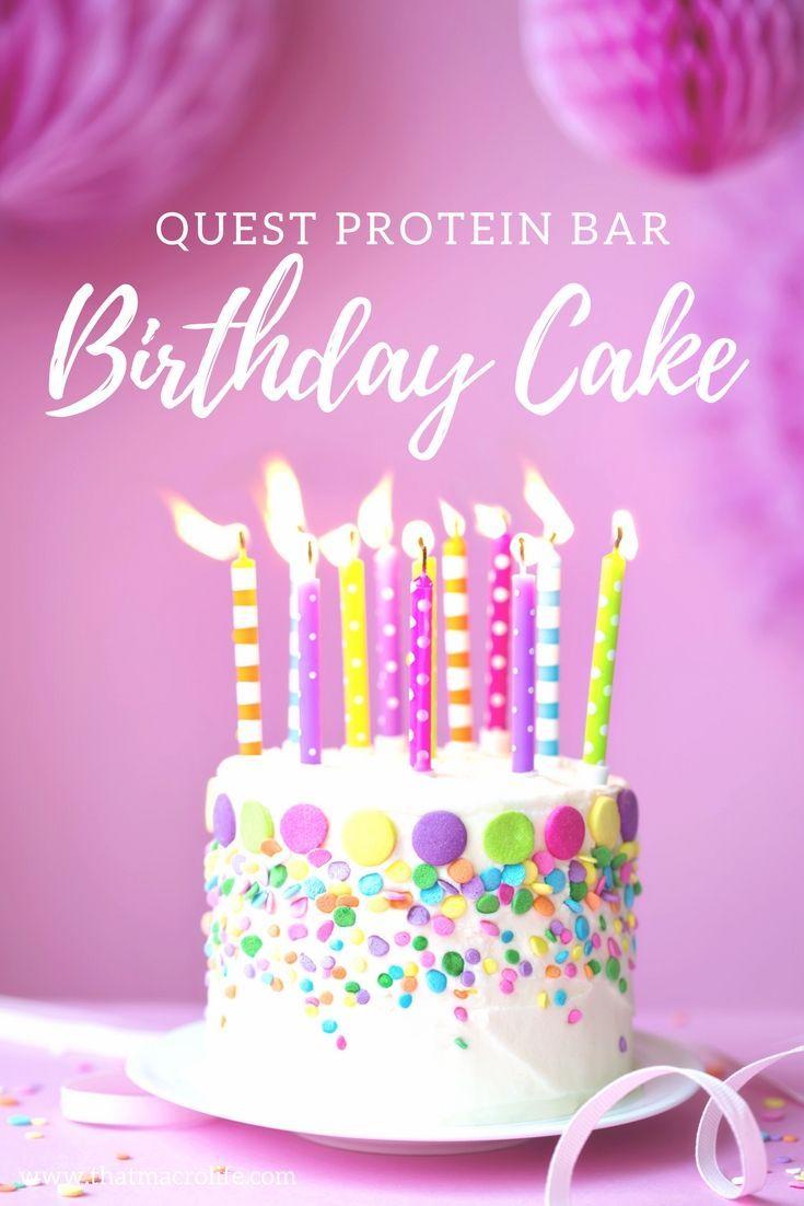 New Quest Bar Flavor Birthday Cake Protein