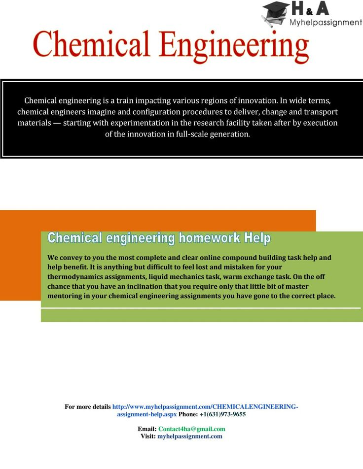 Help with chemical engineering homework phd thesis finder