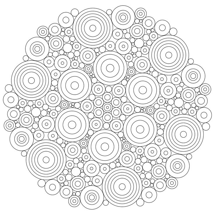 chess piece mandala coloring page
