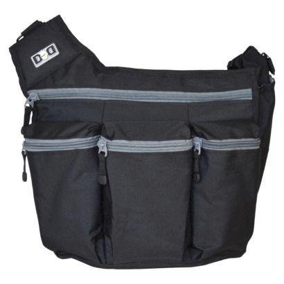 Diaper Dude Diaper Bag - Black