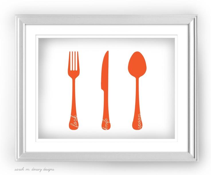 Cute Kitchen Printables Breakfast For DinnerKitchen ArtKitchen