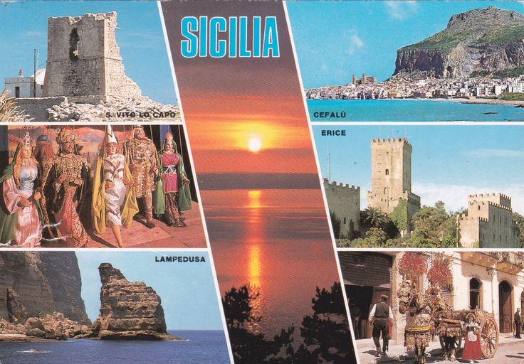 Sicily (Italy) - Postcard