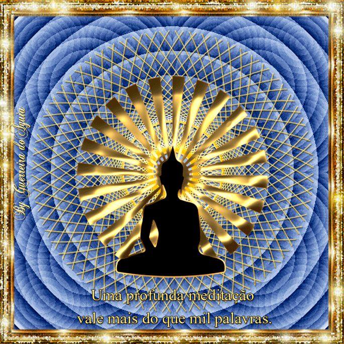 Cantinho de Imagens da Guerreira: Meditação Profunda