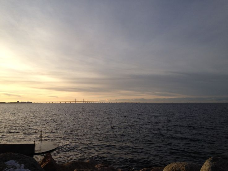 #bridge #Malmö #Copenhagen #sea #nature #blue
