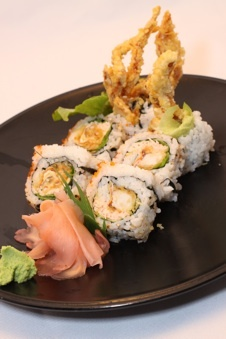 Spider roll - Combining sushi and soft shell crab.  How could this be wrong?