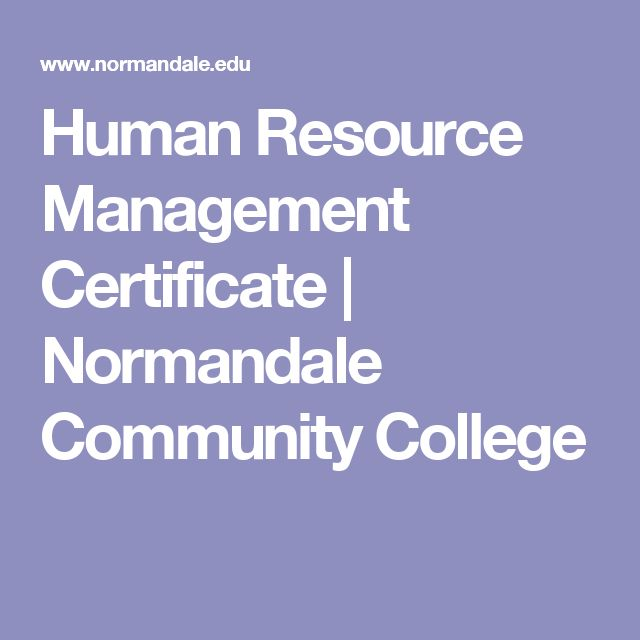 Human Resource Management Certificate | Normandale Community College
