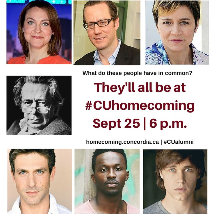 Register now to hear the works and words of Moredecai Richler #CUhomecoming #CUalumni