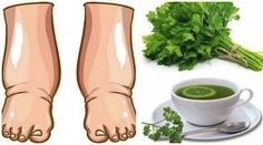 This Powerful Homemade Tea Cures Swollen Legs
