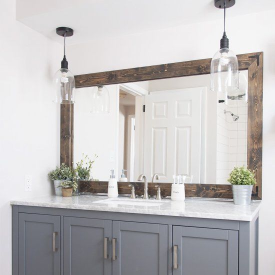 With this tutorial you can change that builder's grade, plain mirror to something you've always dreamed of without spending a fortune!