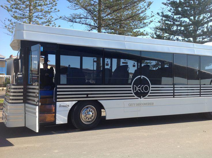 Art Deco coach in Napier NZ