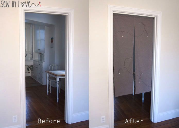 How to make Noren: Japanese room divider partition curtains のれんの作り方 - Best 25+ Japanese Room Divider Ideas On Pinterest Shoji Screen