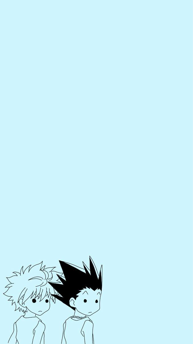 Gon And Killua Wallpaper Anime Wallpaper Iphone Cute Anime Wallpaper Anime Wallpaper