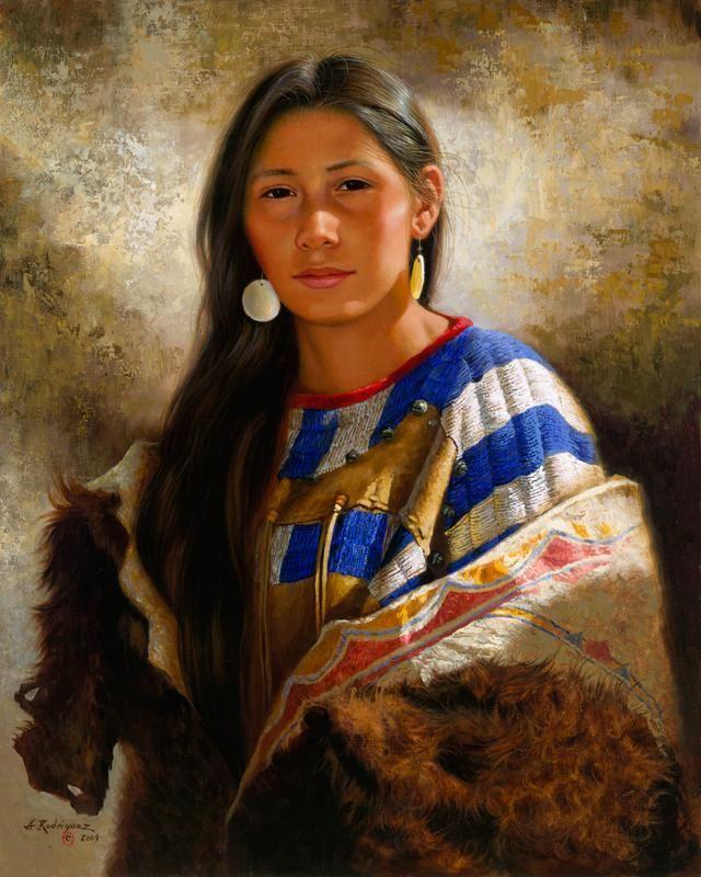 Sioux Princess - Alfredo Rodriguez @ heritageonlinegallery.com - Pixdaus