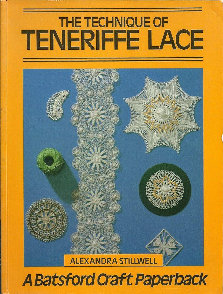 TEJIDOS: Encaje Tenerife (Dentelle Ténériffe, Teneríffe werk, Tenerife lace), Soles de Cáceres, Soles salmantinos