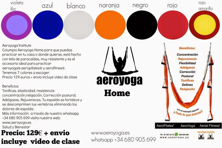 Aeroyoga Institute Formación de Profesores de Yoga Aéreo® y Pilates Aereo®: Columpio para hacer Yoga Aereo - Aero Yoga swing -...
