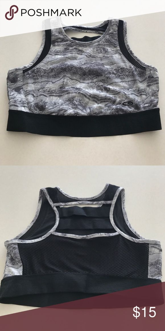 C9 Champion Sports Crop Top Spandex and mesh sports bra/crop top. Perfect for a yoga class or running errands! Worn 1x, brand new condition. C9 Champion Tops Crop Tops