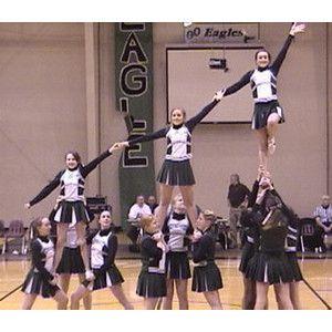 cheer stunts - Polyvore